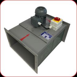 Kanal-Radial-Ventilator (Typenbezeichnung KRV, KRV-Duo)