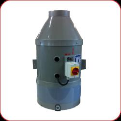 Rohr-Radial-Ventilator (Typenbezeichnung RRV)